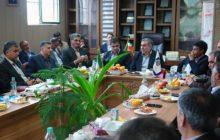 فرماندار شاهینشهر و میمه بر نقش اصناف در تحقق شعار سال« اقتصاد مقاومتی؛ تولید- اشتغال» تأکید کرد