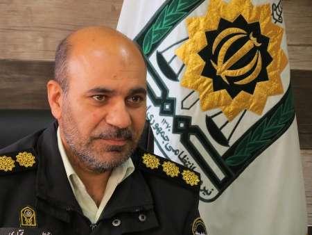 فرمانده نیروی انتظامی شاهینشهر و میمه از انهدام باند ۵ نفره مواد مخدر خبر داد