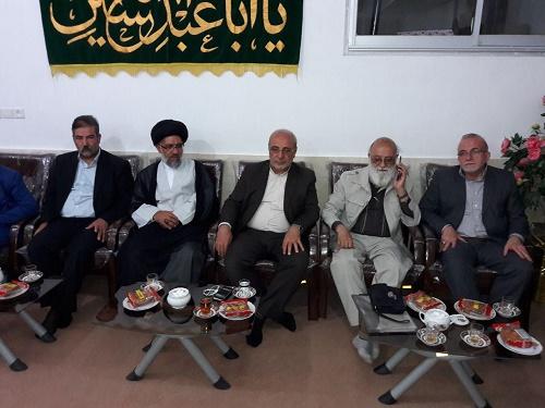 برگزاری جلسه مسئولین شاهینشهر و میمه با چمران رئیس شورای عالی استانها در سکوت خبری کامل