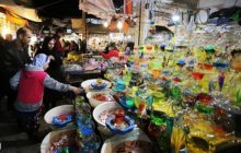 بازار شهرستان شاهینشهر و میمه حال و هوای شب عید به خود گرفت