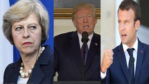آمریکا، انگلیس و فرانسه به سوریه تجاوز کردند/بوی جنگ جهانی سوم میآید