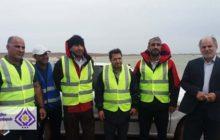 گزارش تصویری از حضور شهردار و پرسنل شهرداری تیران در مناطق سیلزده خوزستان