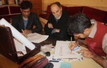 ضیافت افطار تا سحر تحت عنوان برنامه «قدر و قلم» در شاهینشهر برگزار شد+تصاویر