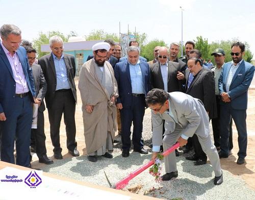 گزارش تصویری از افتتاح و کلنگ زنی ۱۸ پروژه عمرانی شهرداری شاهینشهر