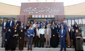 گزارش تصویری تجلیل مسؤولان شاهینشهر و میمه از خبرنگاران و اصحاب قلم