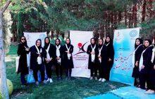 اولین همایش پیلاتس معلق در پارک بانوان اصفهان برگزار شد