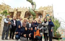 بازدید اعضای خانه مطبوعات اصفهان از مناطق گردشگری شهرستان سمیرم+تصاویر