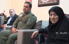 مادر شهیدان یاسینی در شاهینشهر اصفهان دعوت حق را لبیک گفت