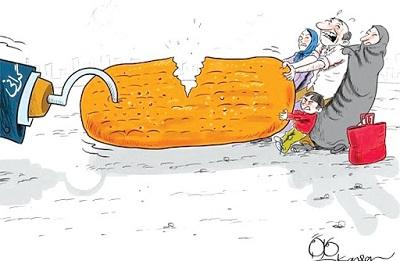 قیمت نان در سطح شهرستان شاهینشهر و میمه نزدیک به 30 درصد افزایش یافت